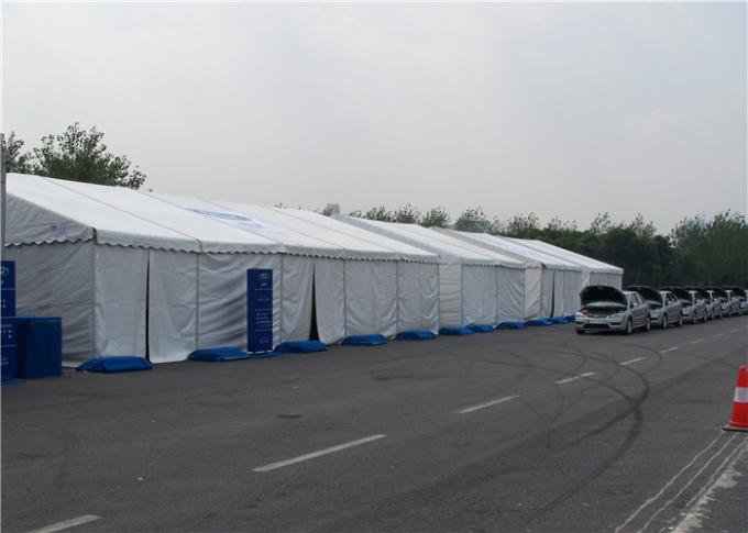Lightweight Industrial Storage Tents High Reinforce Aluminum Multi Weather Adaptation