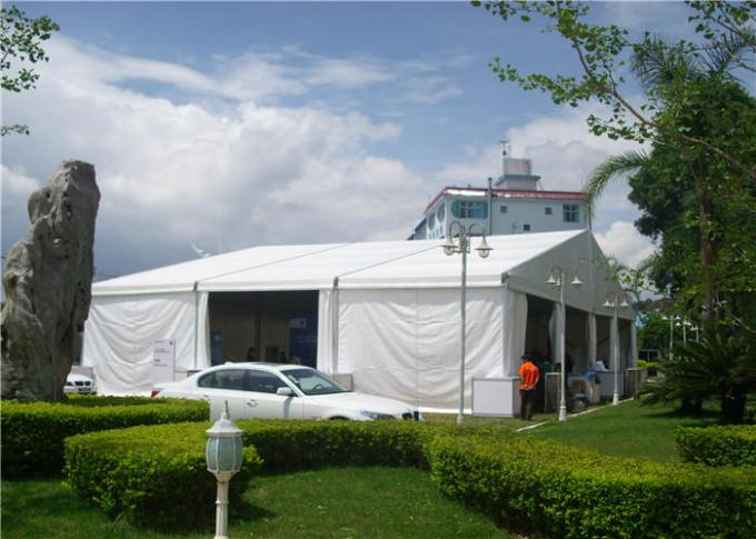 Church White Large Party Tents , Aluminum Frame Outdoor Winter Party Tent
