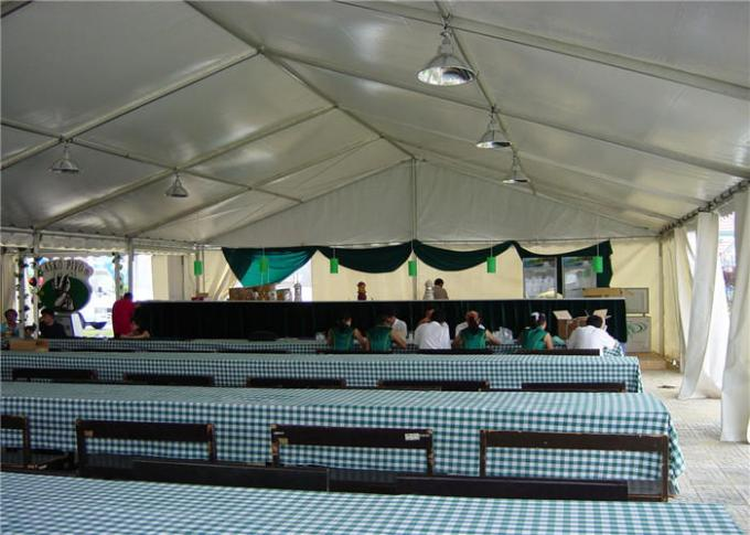 Clear Marquee 20 X 30 Party Tent Wind / Snow Resistance With