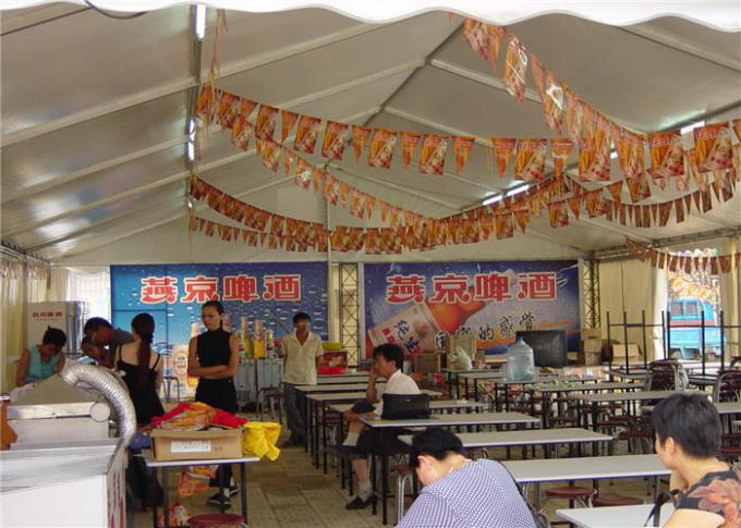 Huge Custom Party Tents , Outdoor Tent Wedding Reception 5 - 10 years Life Span