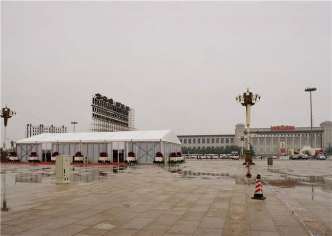 Easy Carry PVC Event Tent 25 X 60m 1000 People Aluminum Alloy PVC / ABS Wall