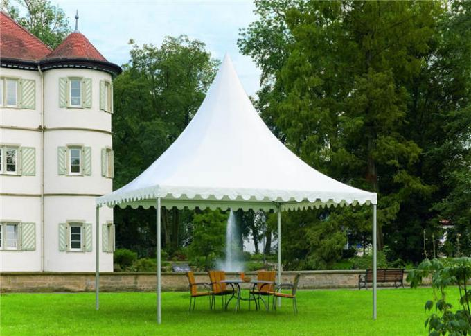 100km / H Wind Load Polyester Party Tent , Commercial Pvc Party Tent For Church Gathering