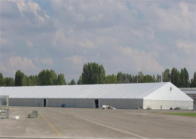 Electrical Appliance Exhibition Stand Tent 40m Huge Clear Span 80 - 120km / H Windproof