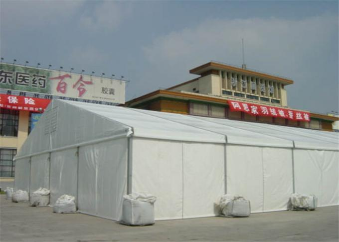 ABS / Glass Wall Sporting Event Tents 25m X 60m Long Life Span 25kg / Sqm Snow Load