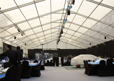 China Car Promotional Exhibition Stand Tent Multi Sizes Wirerope Further Strengthened supplier