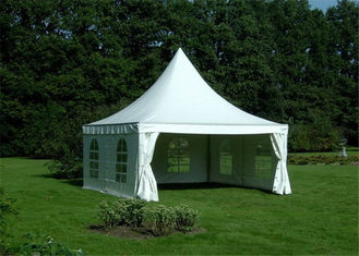 China Wedding Pagoda Party Tent Aluminum Frame UV Resistant 3 X 3m Expandable Screw supplier