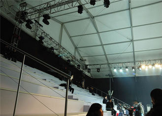 China Temperature Resistance Outside Party Tents 500 Seaters For Wedding / Exhibition supplier