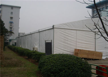China 30 X 100m  Large Party Tents , 3000 Seaters Clear Span Tent Over 250 MPa Hardness supplier