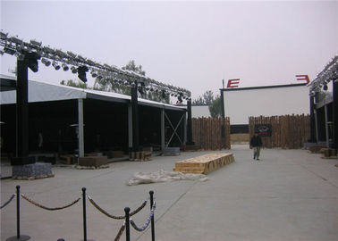 China Large Aluminum Party Tents Colourful Cover VIP / Simple Cassette Flooring 20m * 50m supplier