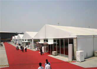 China 20m Aluminum Party Tents hard Pressed Extruded For Workshop / Storage SGS supplier