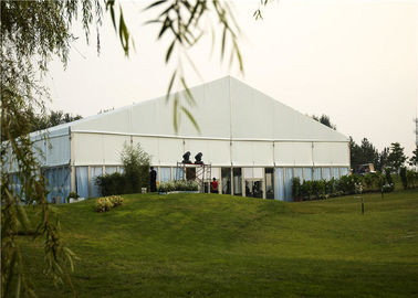China Clear Outdoor Wedding Canopies , Long Life Heavy Duty Party Tent SGS Certificate supplier