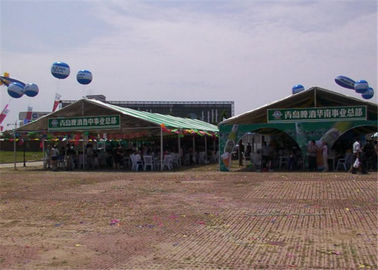 China Anti - UV Outside Wedding Tents , Digital Printing PVC Party Tent TUV Certificates supplier