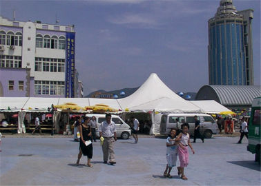 China 800 People Aluminum Party Tents , Permanent Transparent Party Tent Glass Marquee supplier