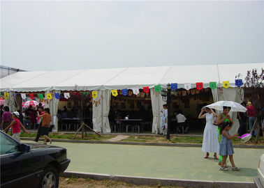 China Clear Marquee 20 X 30 Party Tent  Wind / Snow Resistance With Self - Cleaning Ability supplier