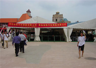 China Huge Custom Party Tents , Outdoor Tent Wedding Reception 5 - 10 years Life Span supplier