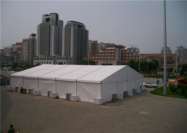 China Generous Stretch Wedding Party Tent  40m X 60m Easy Transportation 850g / Sqm PVC supplier