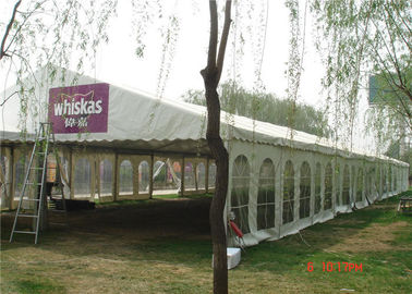 China 500 Seaters Wedding Party Tent 15m * 40m Water Resistant And Uv Protected supplier