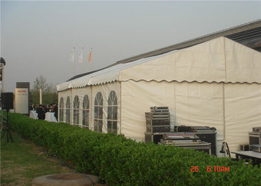 China Big White Wedding Party Tent  Snow Resistance Rectangular Shape Length Unlimited supplier