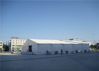 China Customized  PVC Party Tent 800 Seater 12 X 80m Strong Hot - Dip Galvanized Steel supplier