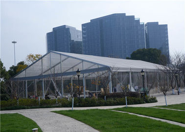 China Stable 20m Width Clear Pvc Tent , High Security Waterproof Event Tents supplier
