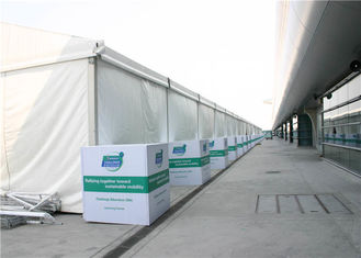 China High Strength Industrial Warehouse Tent Large PVC / Hard Walls 15m X 30m supplier