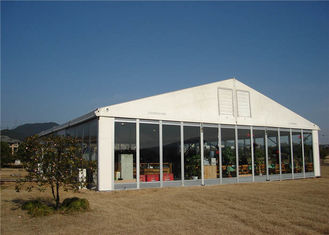 China Luxury Customized Clear Party Tent , Waterproof Event Tents 30 X 60m Wide Used supplier