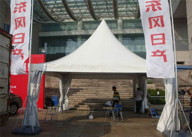 China 100km / H Wind Load Polyester Party Tent , Commercial Pvc Party Tent For Church Gathering supplier
