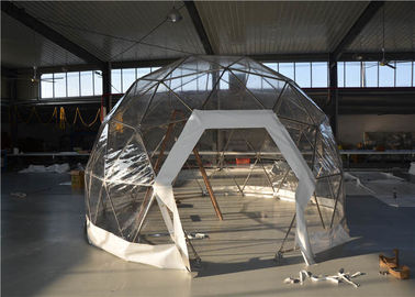 China Igloo Geodesic Dome Tent Outdoor Metal Frame Anti - Mildew For Camping supplier