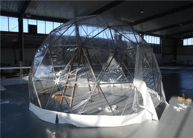 China Exhibition Round Portable Geodesic Dome Stage / Cassette / Wooden Floor supplier