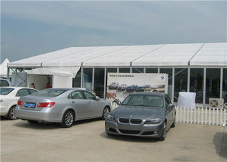 China Self - Cleaning Exhibition Stand Tent Outdoor Marquee 10m * 45m Light Weight supplier