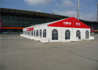 China Advertising Custom Trade Show Tents 10m * 24m , Clear Span Display Canopy Tent supplier