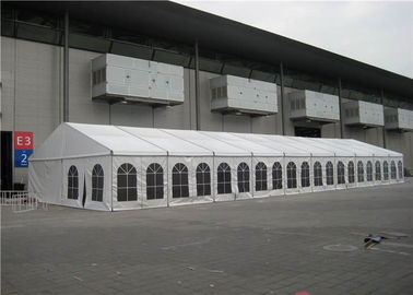 China 15m * 42m Exhibition Stand Tent ABS Hard Wall Over 15 Years Life Span supplier