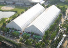 China Giant Curved Clear Sports Tent Football Field Playground TFS 120km / H Wind Resistance factory