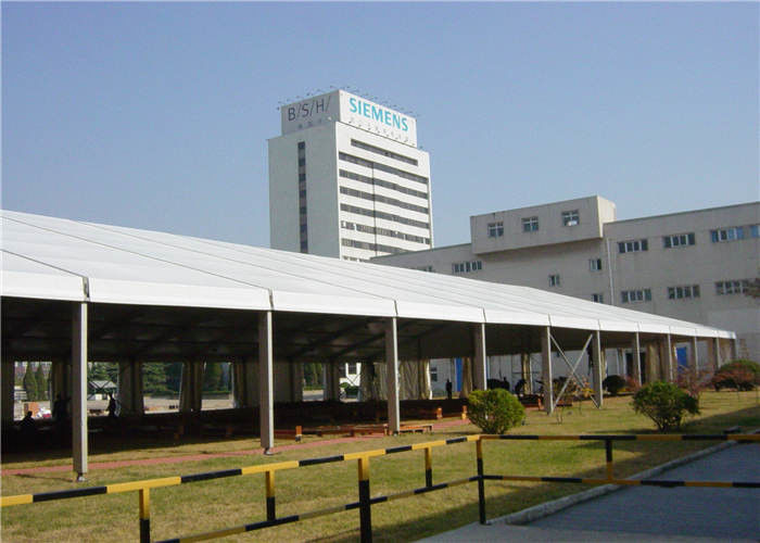 Aluminum Structure Builders Warehouse Tents , Large Industrial Tents