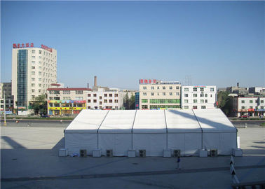 Wedding Pvc Event Tent  25 X 50m Flooring / Wind Resistant Withstand All Weather
