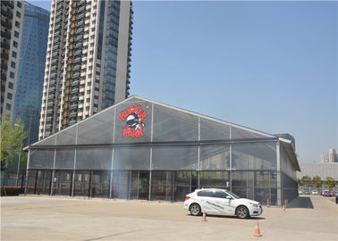 Outdoor Advertising Pvc Event Tent  With Clear Windows Hard Pressed Extruded Aluminum