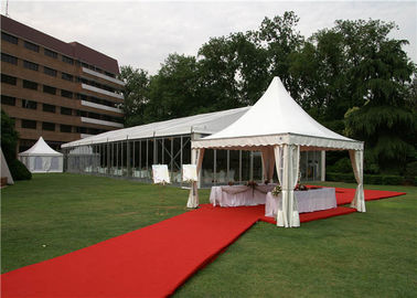 16 Sqm Commercial Pagoda Party Tent UV - Resistant 420D Polyester For Trade Fairs