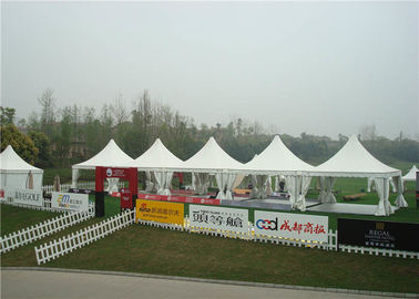 Large Portable Outdoor Winter Party Tent High Peak 6 X 6m Pagoda 80km / H Wind Load