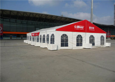 Advertising Custom Trade Show Tents 10m * 24m , Clear Span Display Canopy Tent