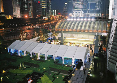Outdoor Marque Exhibition Stand Tent 15m * 45m High - Strength Aluminium Alloy