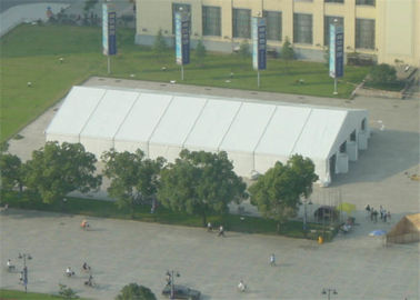 Outdoor Aluminum Canopy  Tent , Ground Anchor Clear Span Tent 25m X 50m