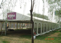 500 Seaters Wedding Party Tent 15m * 40m Water Resistant And Uv Protected